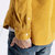 Mens Chest Pockets Corduroy Casual Workwear Shirts