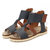 Soft Summer Flats Sandals Female Fish Mouth Roman Sandals