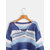 Dames Casual gestreepte v-hals sweaters