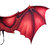 Halloween Carnival Cosplay Non-woven Dragon Wings Clothing Adult Decoration Toys