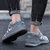Men Breathable Non Slip Soft Suede Sport Casual Running Sneakers