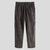 Mens Fashion Corduroy Stripe Zipper Long Casual Pants