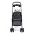 Folding Pet Stroller 4 Wheeled Dog Cat Carrier Cart Outdoor Travel Puppy Trolley