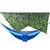 IPRee Camouflage Rain Fly Tarp and Camping Hammock with Mosquito Net Portable Hammock Canopy 210T Plaid Fabric PU Waterproof 2000 Sun Shade Tent Awning For 2 Person