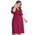 Кружевной узел в горошек Лето Plus Размер Платье