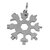 18 In 1 Snowflake Shape Multi Tool KeyChain Screwdriver EDC Tool