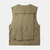 Mens Outdoor Multi Bolsos Zipper Single Breasted Casual Thick Vest