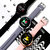 Bakeey K16 1.3' Full Touch Screen Super Slim Wristband IP68 Fashion UI Blood Pressure HR Monitor Long Standby Brightness Music Camera Control Smart Watch