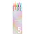 KACO K1015 5 Pcs/Box Macaron Candy Color Gel Pens 0.5mm Pen Refill Signing Pens For Students School Office