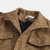 Mens Vintage Multi Pockets Thickened Turn Down Collar Loose Comfy Casual Jacket