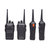 BAOFENG BF-999S5 8W de gran potencia de mano Walkie Talkie 16 canales 400-470MHz Mini Ultra Thin Interphone Driving Hotel Civilian Intercom