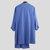 Mens Long Sleeve Grandad Neck Kurta Shirt Button Front Ethnic T Shirts Kaftan Tops