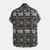 Camicie casual a maniche corte stampate elefante etnico da uomo