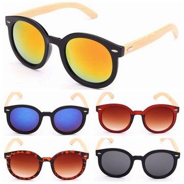 Fashion Handmade Bamboo Legs Eyewear UV400 Sunglasses Glasses