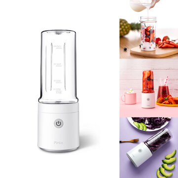 Pinlo 350 ml fruitpersfles Draagbare USB oplaadbare DIY Juicing Extracter Cup van Xiaomi youpin