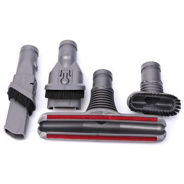 Multi-Purpose Suction Nozzle Brush Head 4-in-1 Set for Dyson V6 V7 Vacuum Cleaner Parts