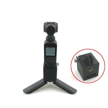 Multi-functional Gimbal Mount Adapter 1/4 inch Base Bracket For DJI OSMO Pocket GoPro Accessories Tripod Extension Rod