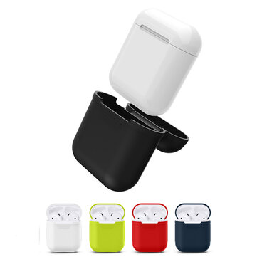 Silicone Shockproof Waterproof Storage Case Cover for Apple Airpods