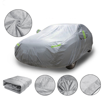 M 4.5X1.75X1.5m Universal Full Car Cover Cotton Waterproof Breathable UV Protection Outdoor
