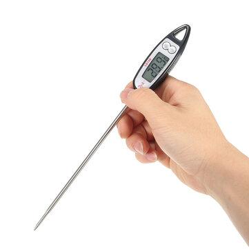 Digital Probe Cooking Termómetro Temperatura de la bebida de los alimentos Sensor al aire libre Barbacoa Cocina herramientas