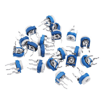 60pcs RM065 100 Ohm Trimpot Trimmer Potentiometer Variable Resistor