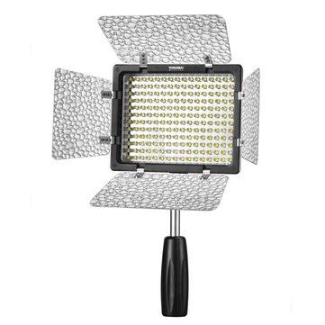 Yongnuo YN160 III LED Luminance Réglable Photographie Vidéo Lumière Bi-couleur Température 3200K 5500K
