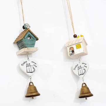 The Owl House Bell Wind Chimes Resin Strap Door Trim