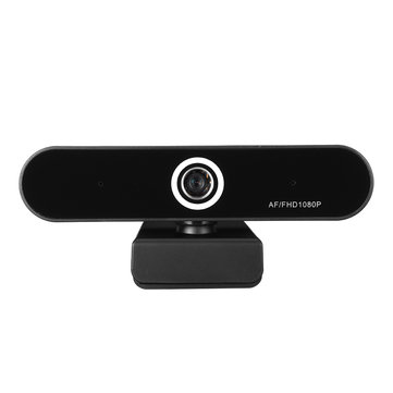 1080P HD AF USB Multifunctional Car Base Camera Dual Built-in Microphone Computer Webcam 2m USB Data Cable 2.0 Interface for Network Video Conferencing