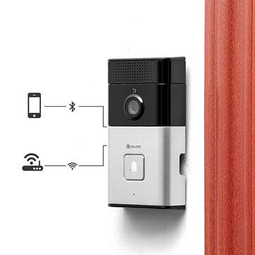 DIGOO SB-XYZ Kablosuz Bluetooth ve WIFI Akıllı Ev HD Video Kapı Zili Kamera Telefon Yüzük