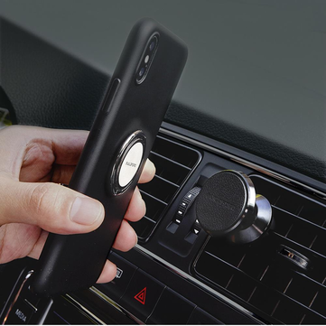 Guildford Car Magnetic Phone Holder 360° Rotation Metal Ring Mount Stand for iPhone XS from Xiaomi Youpin