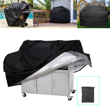 Grote maat Outdoor Camping BBQ Grill Covers Heavy Duty Waterdichte Barbecue Cover Picknick Accessoires