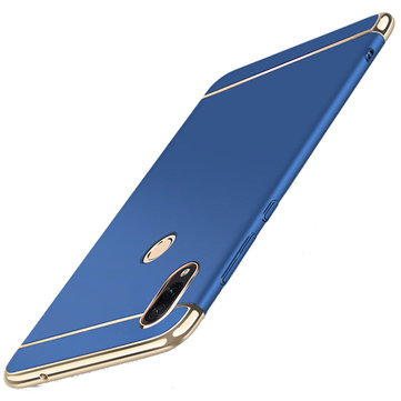 Bakeey Ultra-thin 3 in 1 Plating Frame Splicing PC Hard Protective Case For Xiaomi Redmi Note 7 /Redmi Note 7  Pro