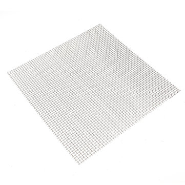 30x30cm Woven Wire 304 Stainless Steel Filtration Grill Sheet Filter 5 Mesh