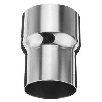 3 polegadas para 2,5 polegadas OD tubo de escape padrão inoxidável Conector Tubo redutor do adaptador