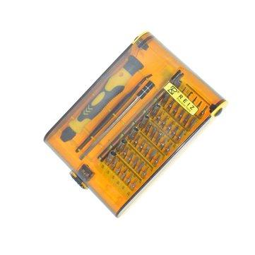 Mingtu 45 in 1 Kit di riparazione cacciavite di precisione Set di attrezzi aperti per iPhone iPod del telefono cellulare