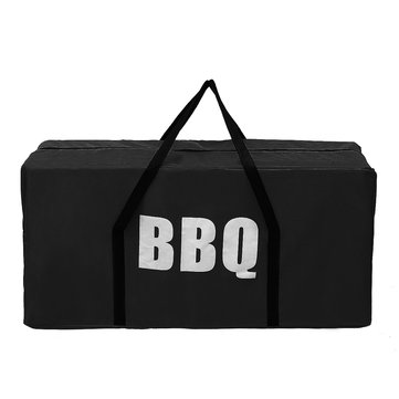 Outdoor Portable BBQ Grill Bag Oxford Camping Picnic Cooking Stove Carry Pouch