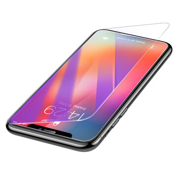 Baseus 0.3mm Clear / Anti Blue Light Ray Protezione per schermo in vetro temperato pieno per iPhone XS Max / iPhone 11 Pro Max