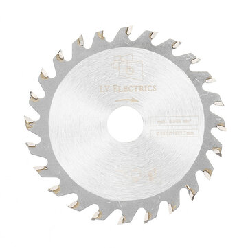 Drillpro 85mm Saw Blade 24 Teeth Circular Cutting Disc 15mm Bore 1.7mm Thickness Woodworking