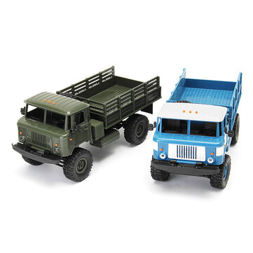 WPL WPLB-24 1/16 RTR 4 WD RC Military Truck 2.4GHZ