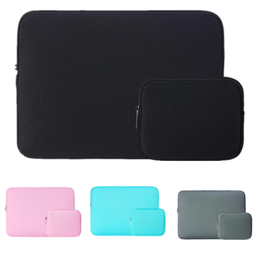 15.6 Inch Waterproof Laptop Case Bag for MacBook Pro Air Xiaomi Pro Air With Small Case For Charger