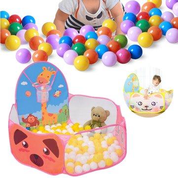 120CM Foldable Children Kids Ocean Ball Piscina Tenda de brinquedos para jogo ao ar livre ao ar livre