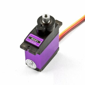 MG91 13g 2.6KG Torque Metal Gear Digital Servo for RC model Airplane Robot RC Parts from Toys Hobbies and Robot on banggood.com