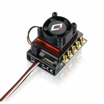 Hobbywing QUICRUN 10BL120 Sensored 120A 2-3S Lipo Speed Brushless ESC For 1/10 1/12 RC Car Parts
