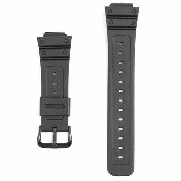16 мм черные резиновые часы Стандарты для CASIO G-Shock DW-6900 DW6600 с пряжкой