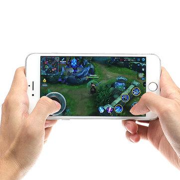 Mini ultra finas de pantalla táctil teléfono móvil arcade juegos joystick controlador para Android iPhone tableta