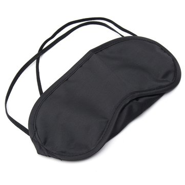 Sleeping Eye Patch Travel Office Eyeshade Cover Rest Aid Relax Máscara Preto