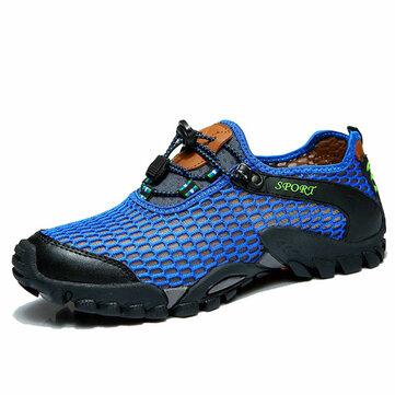 Mannen Mesh Anti Collision Toe Hiking Klimmen Outdoor Atletische Schoenen