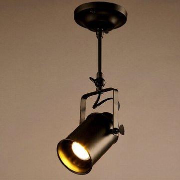Soffitto a soffitto del soffitto del lampadario del soffitto dell'annata retro industriale lampada Apparecchio del riflettore