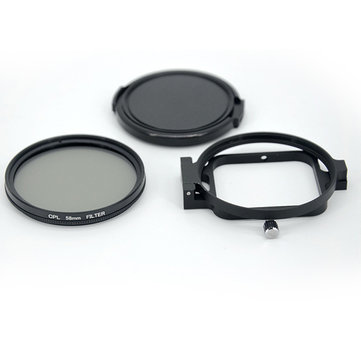 LINGLE 58mm CPL Filter Lens for Gopro Hero 5 Black Waterproof Housing Case