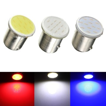 12V 1157 BAY15D 12 SMD COB White Car Brake Parking Light Bulb